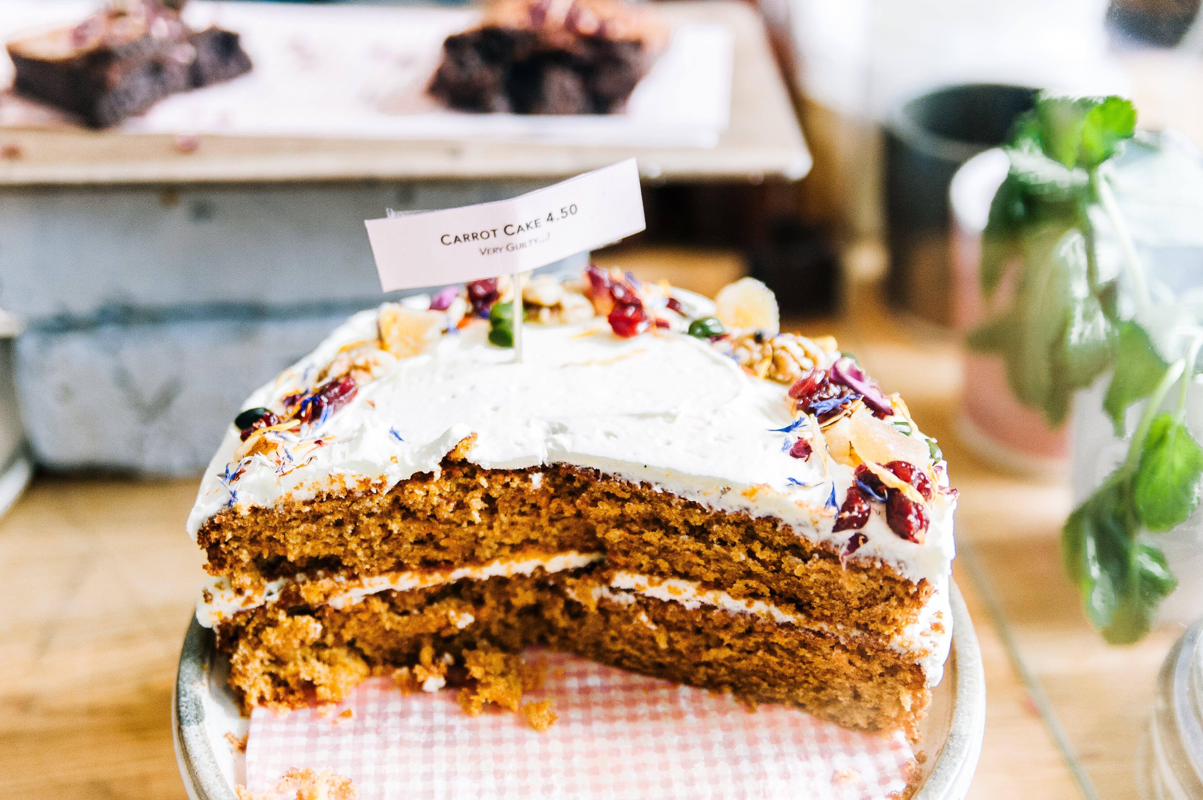 ciasto, jedzenie, kawałek