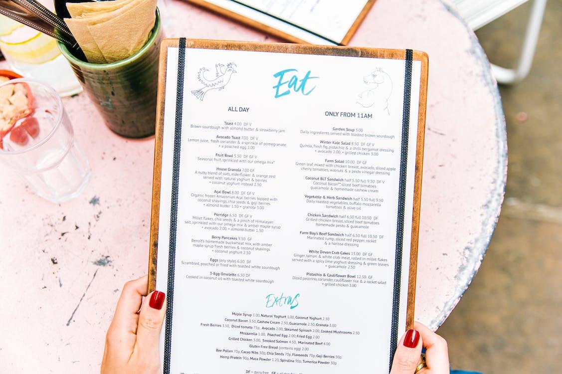 menu decisions