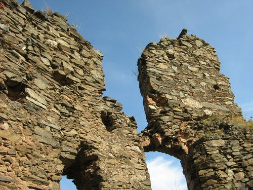 Free stock photo of old castle, stone walls