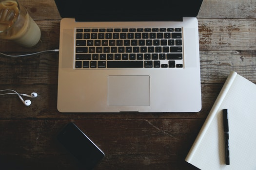 Free stock photo of coffee, apple, macbook pro, notebook