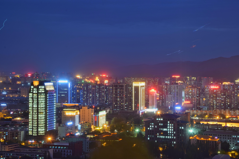 Landscape Photo of City Buildings