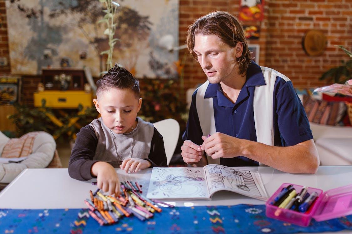 Бесплатное стоковое фото с homeschooling, jenga, близость