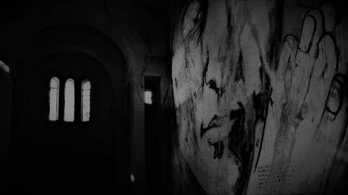Imagine de stoc gratuită din bianco e nero, chiesa, graffiti, luoghi abbandonati