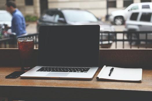 Free stock photo of apple, laptop, macbook pro, notebook