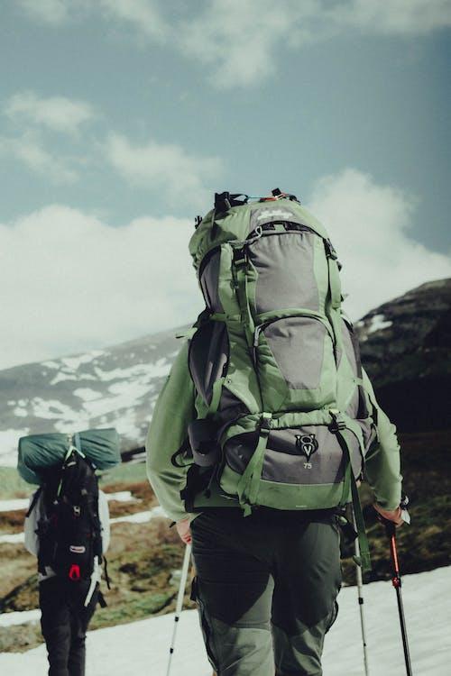 Foto stok gratis backpacker, backpacking, bagasi