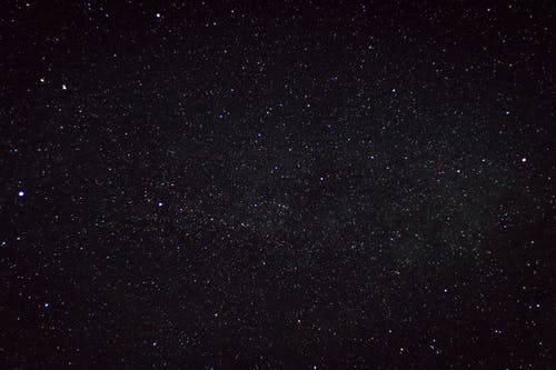Stars in the Sky during Night Time