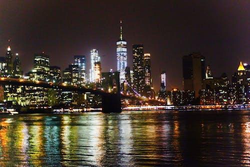 Free stock photo of city lights