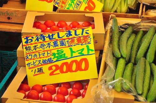 건강한, 농산물 시장, 신선 채소, 일본의의 무료 스톡 사진