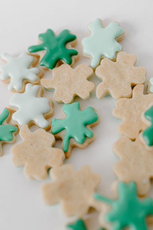 Brown and Green Jigsaw Puzzle