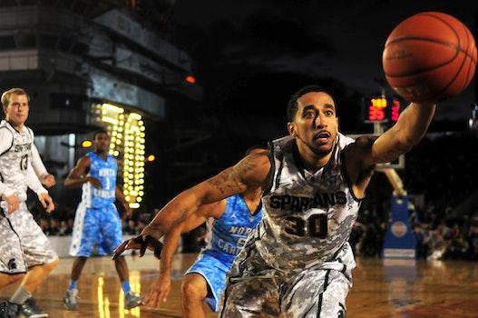 White and Grey Basketball Jersey Uniform