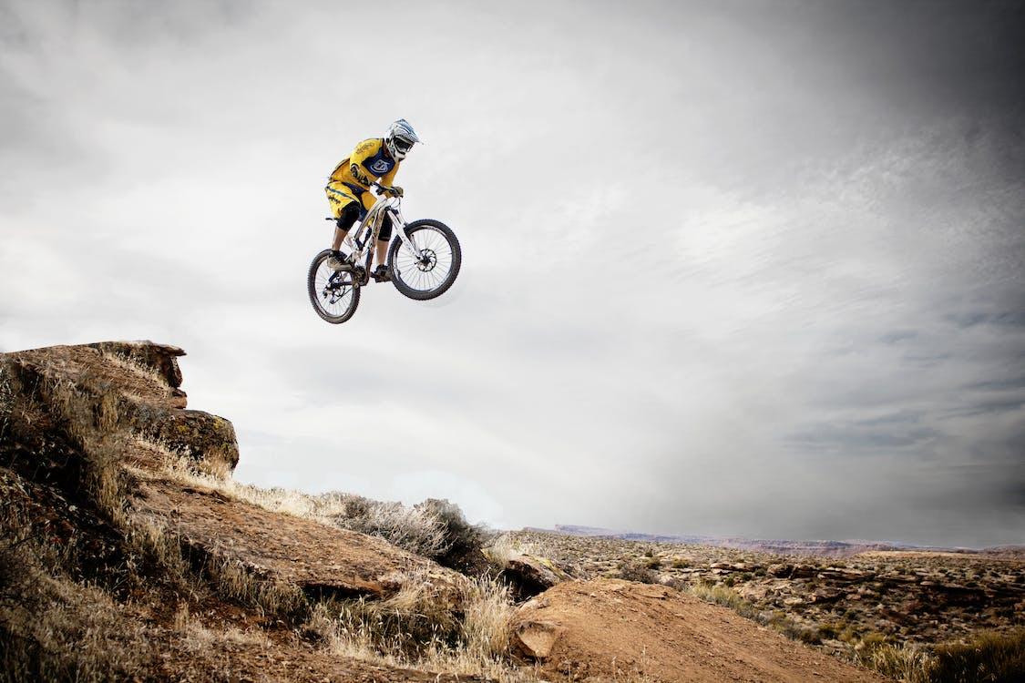 akcia, bicykel, bicyklovanie