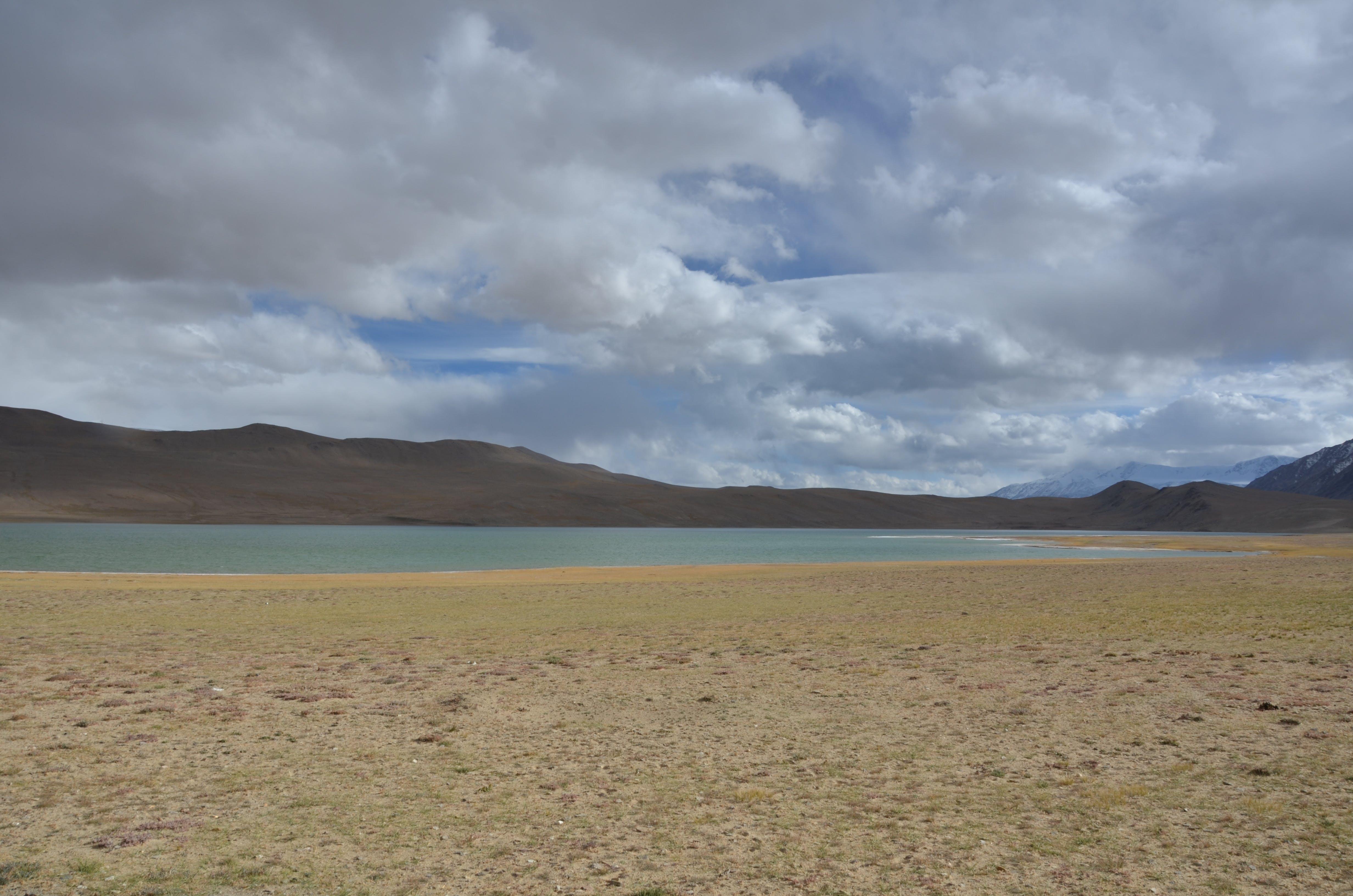 Free stock photo of clouds, mountain, lake