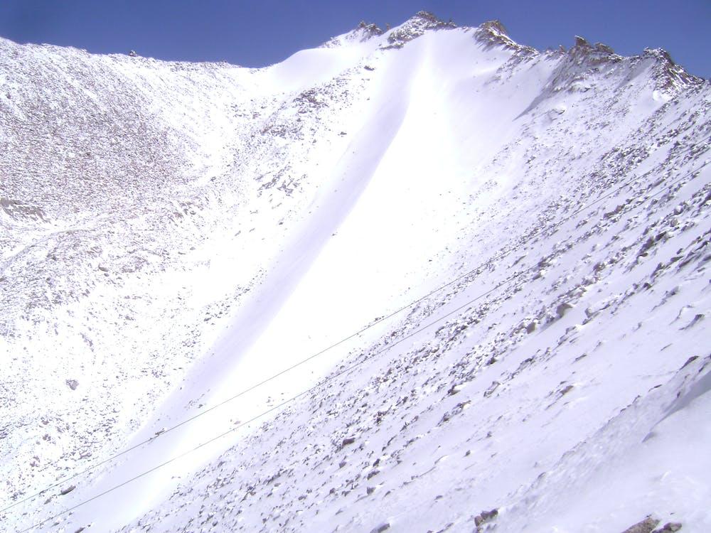Free stock photo of leh, snow, snow capped