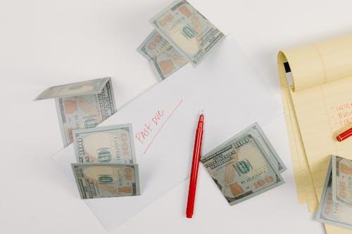 Kostenloses Stock Foto zu 15. april, 401k, banknoten