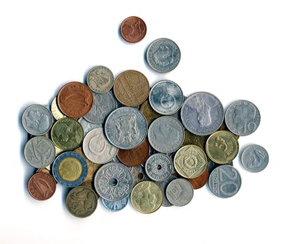 Silver and Brass Coins