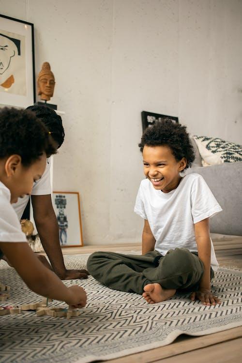 Kostenloses Stock Foto zu afro, afroamerikanische kinder, anonym