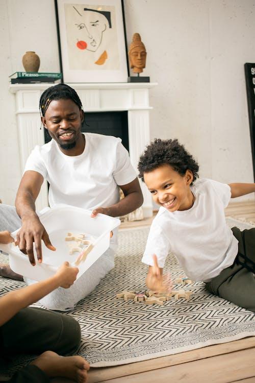 Foto stok gratis anak, anak laki-laki, anak laki-laki amerika afrika