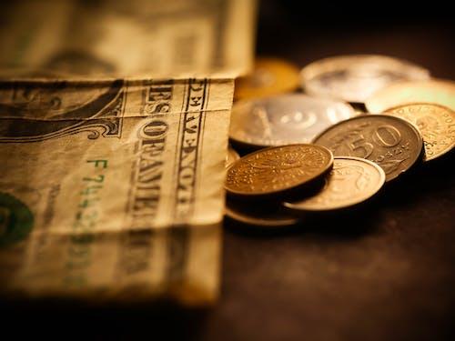 A Close-up Shot of Money