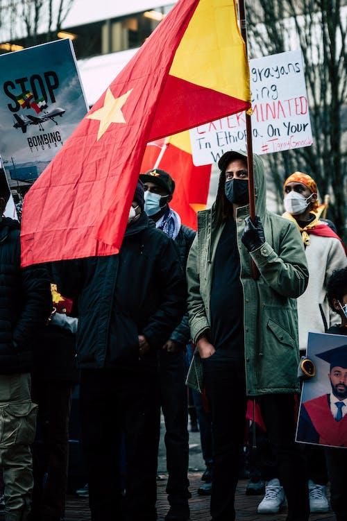 Gratis stockfoto met aanplakbiljet, activisme, activist