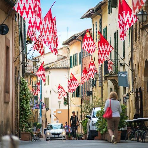 Foto stok gratis Arsitektur, bendera, bendera dekoratif