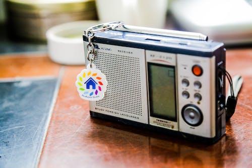 Gratis lagerfoto af radio modtager