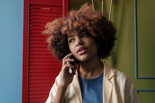 Бесплатное стоковое фото с африканский, афро волосы, женщина