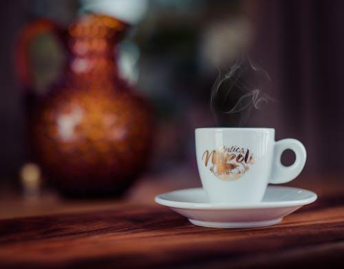 Gratis stockfoto met antica, donkere koffie, espresso, keramische beker