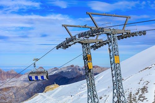 Gratis stockfoto met Alpen, antenne, berg, bergtop