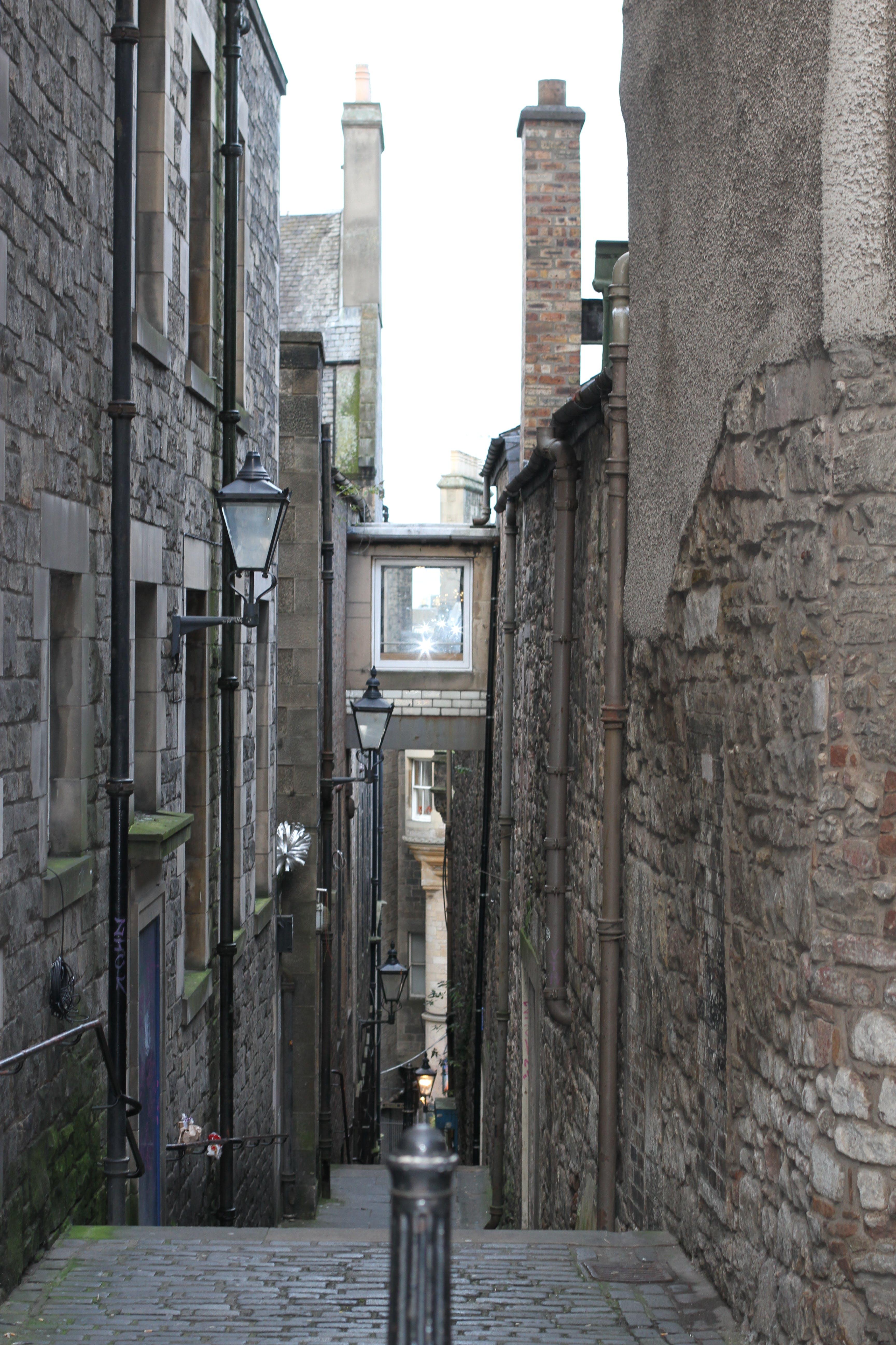 Free stock photo of alley, scotland, edinburgh, passage way