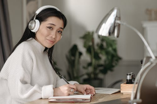 Foto stok gratis Asia, bekerja dari rumah, belajar dari rumah