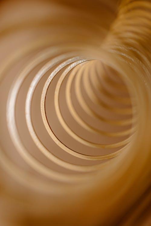 White Spiral Spiral Spiral Illustration
