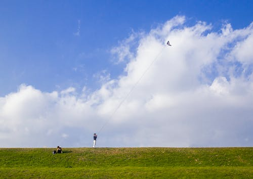 Free stock photo of clouds, freedom, japan, kite