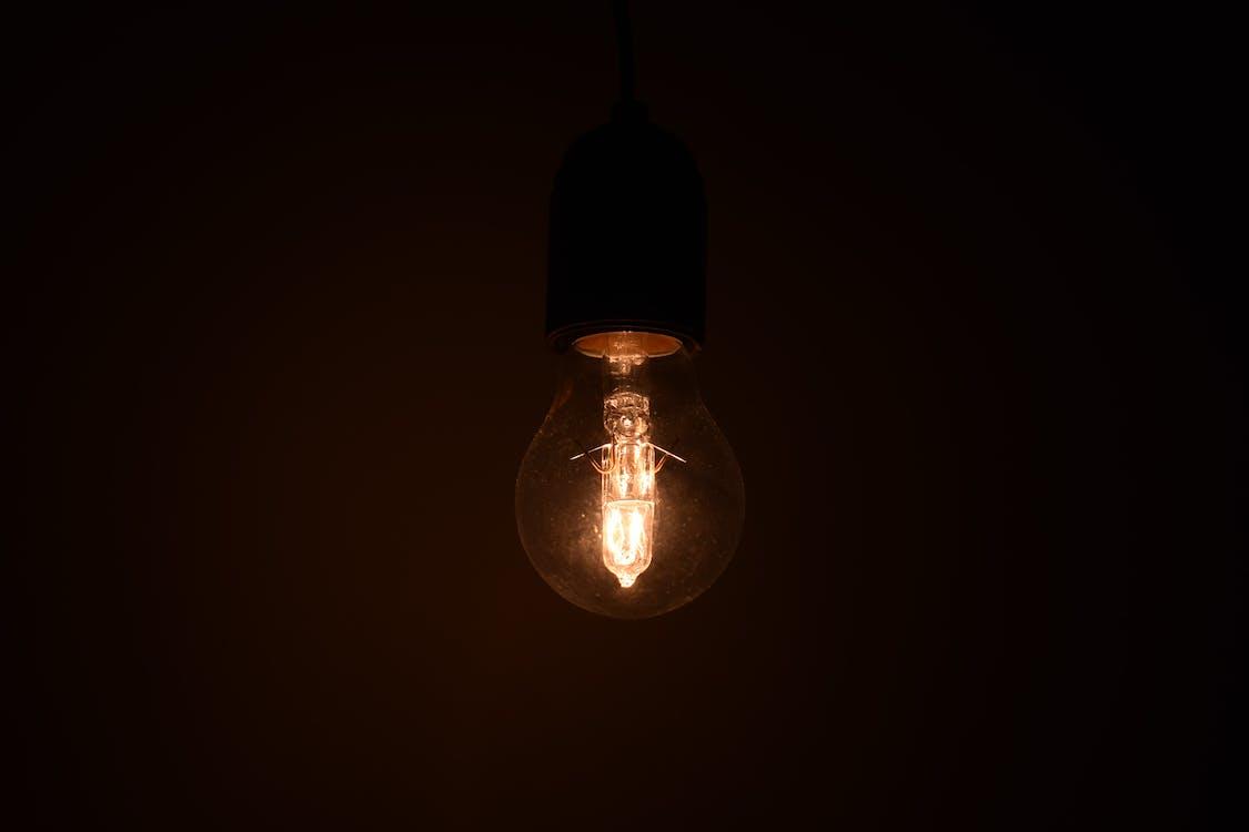 Turned on Light Bulb
