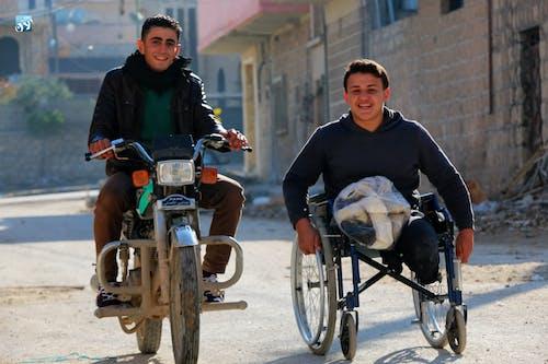 Free stock photo of ابتسامة, أمل, ألم, إدلب