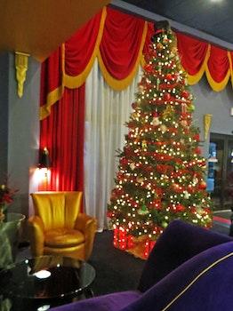 Free stock photo of lights, hotel, purple, lounge