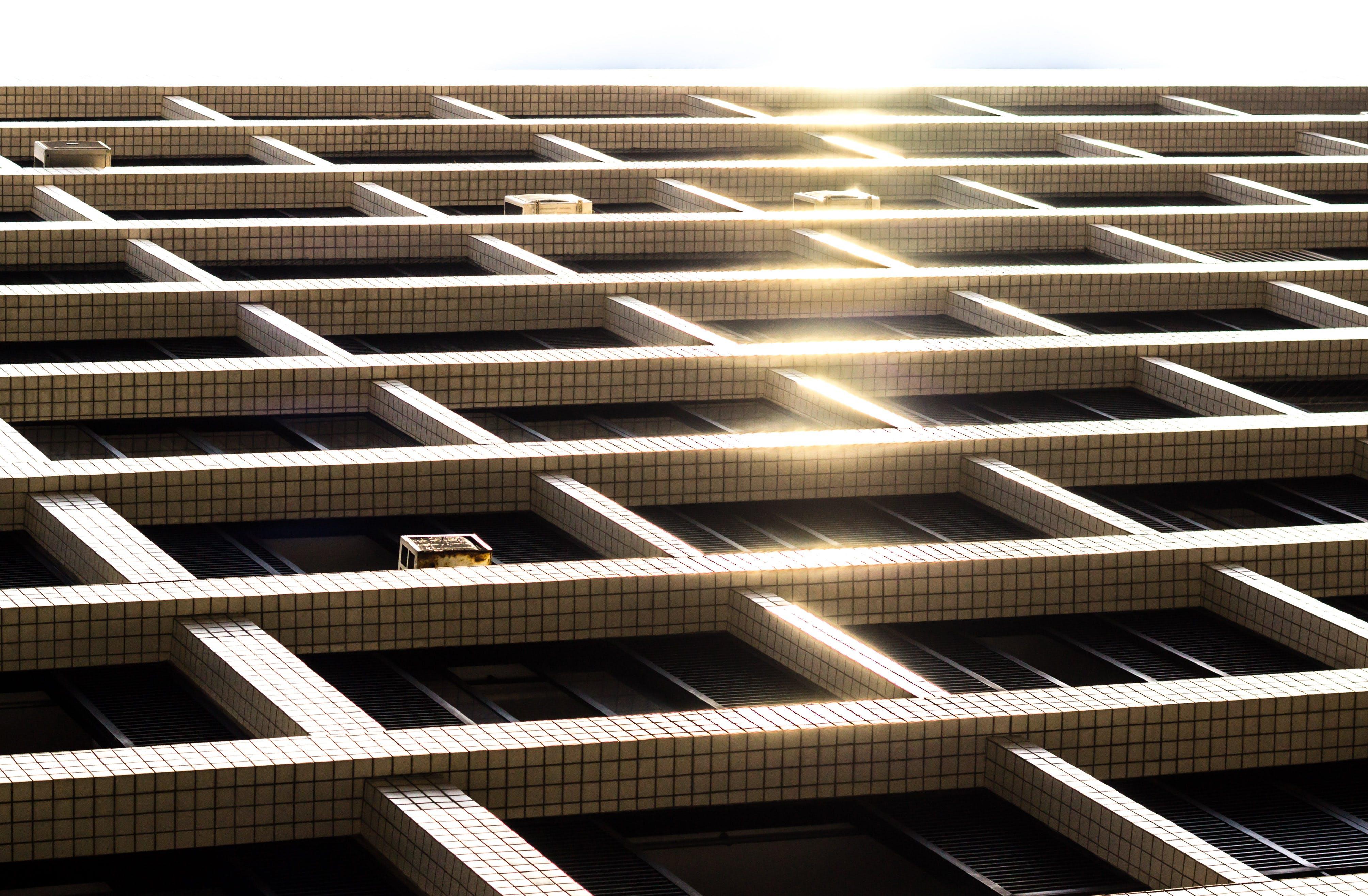 Free stock photo of city, street, urban, apartment buildings