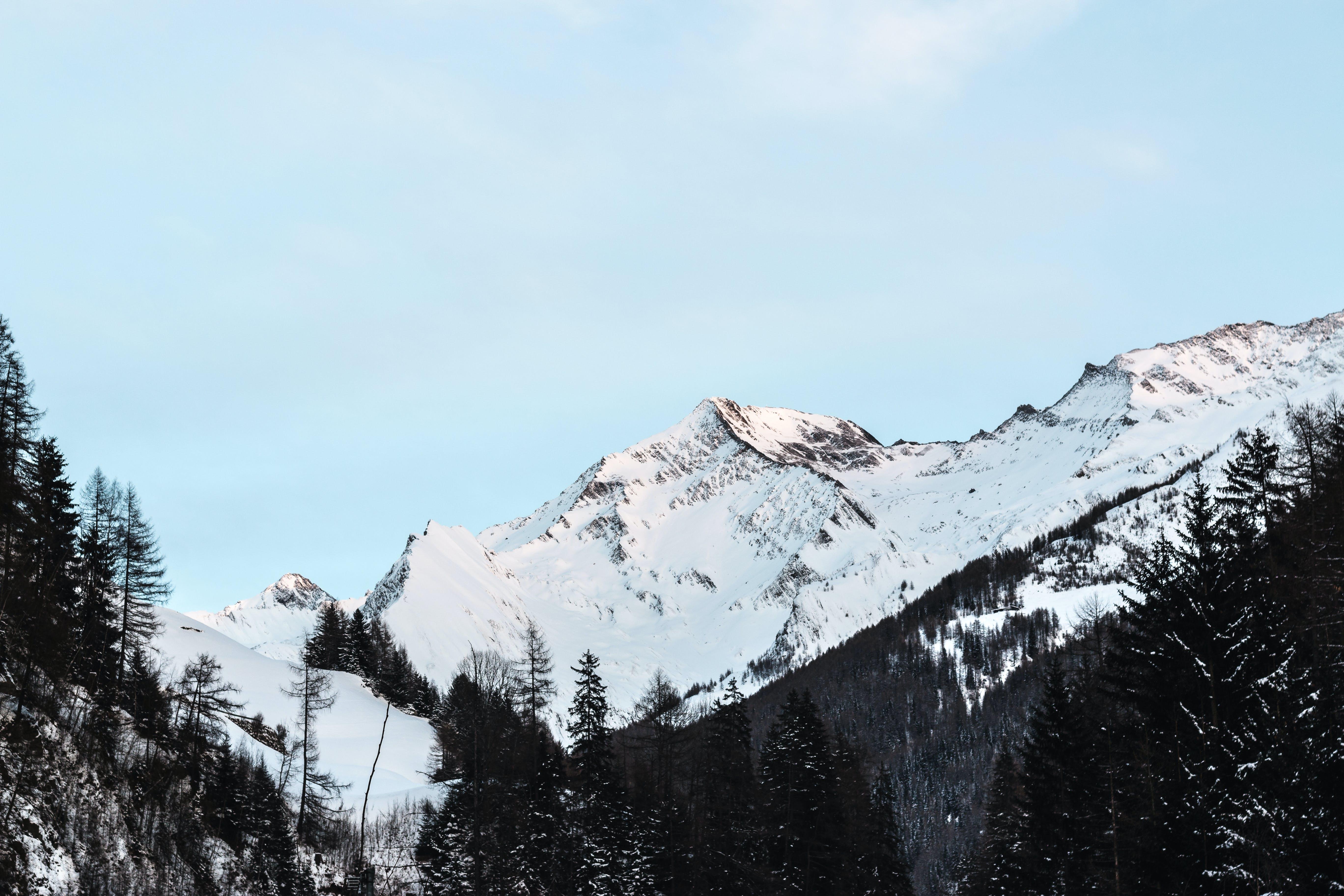 Základová fotografie zdarma na téma HD tapeta, hory, krajina, led