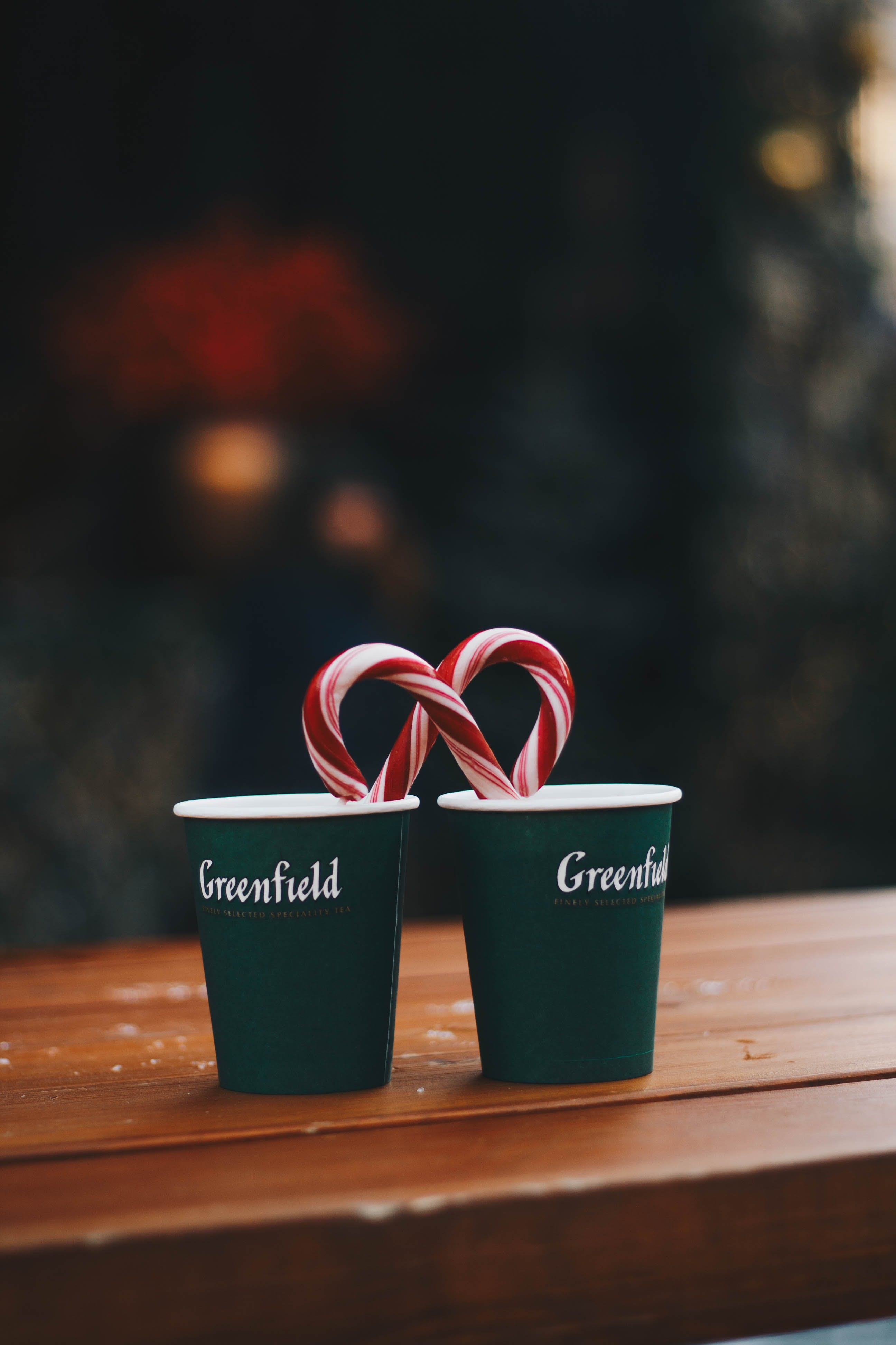 Green Greenfield Couple Cups