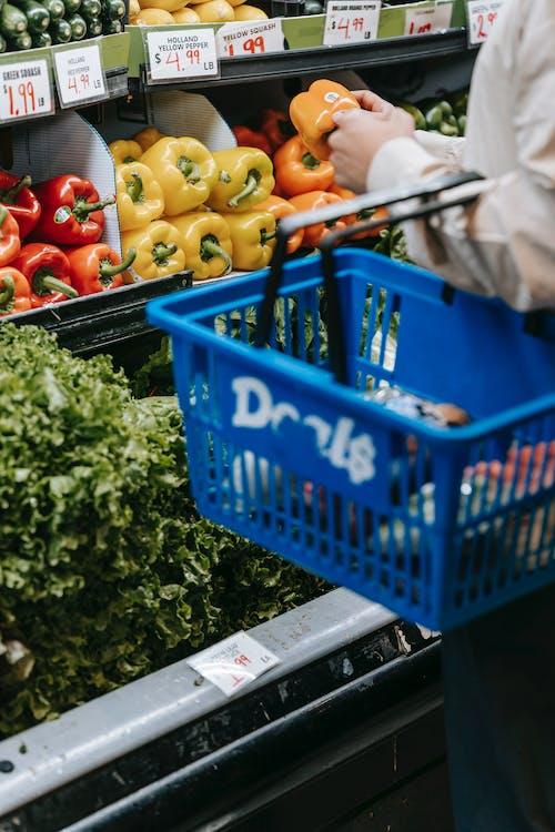Foto profissional grátis de adquirir, alimento, anônimo
