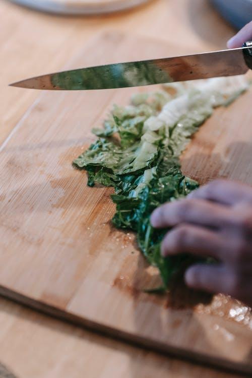 Foto profissional grátis de alface, alimento, apetitoso