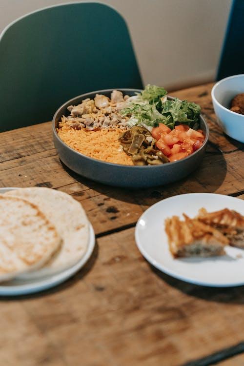 Foto profissional grátis de alimento, almoço, aperitivo