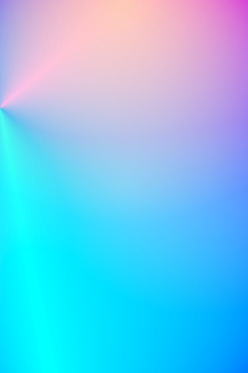 Bright colorful lights on abstract background