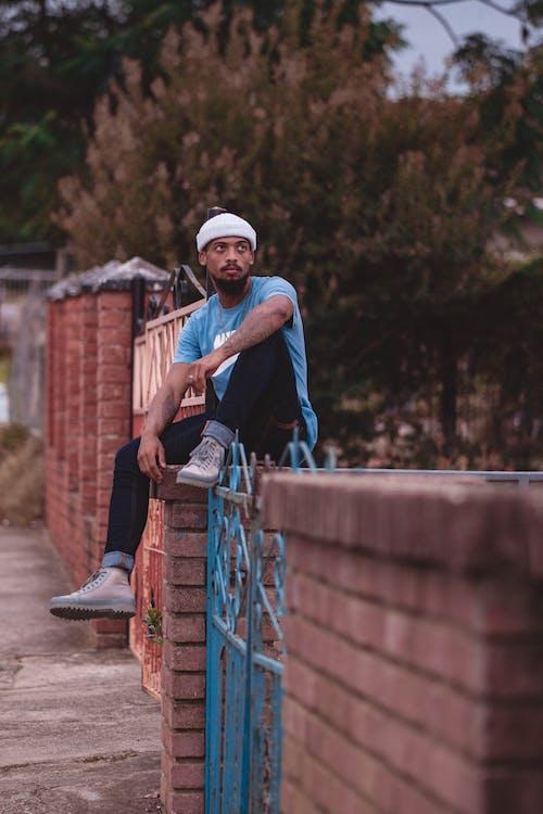 Free stock photo of adult, boy, cap