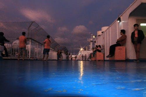 Ilmainen kuvapankkikuva tunnisteilla aallot, alus, auringonlasku, filippiinit