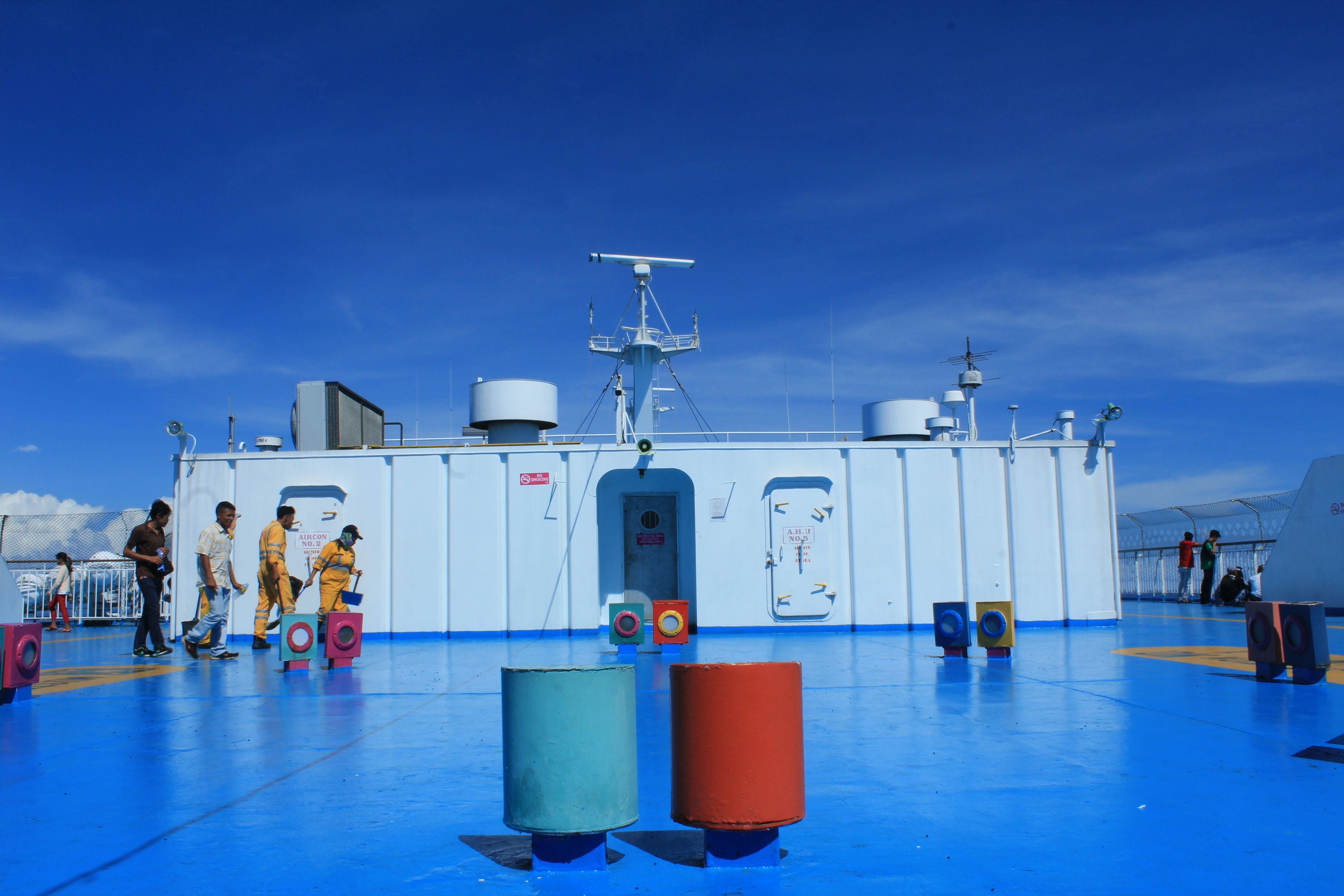Free stock photo of beautiful, blue, boat, cruise
