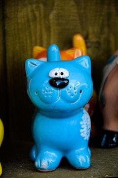 Free stock photo of cat, pottery, ceramic, latvia