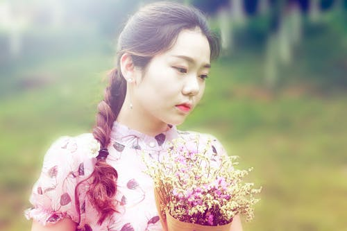 Free stock photo of art, asian girl, beauty