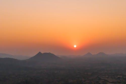 Free stock photo of evening, evening sky, evening sun, forest