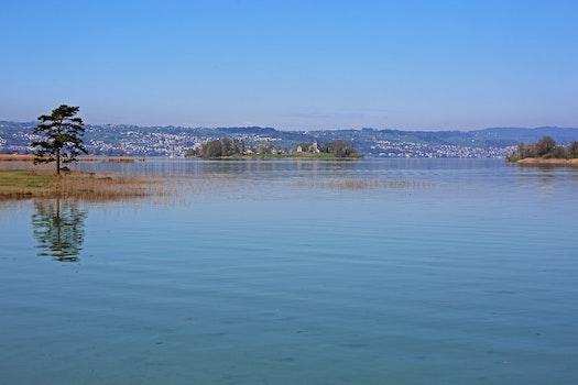 Free stock photo of landscape, water, lake, island