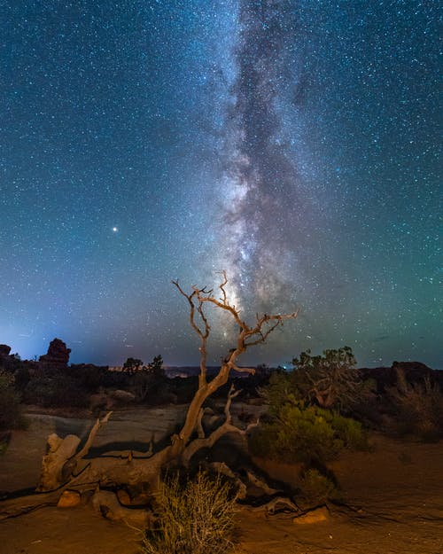Free stock photo of arches national park, astronomy, at night